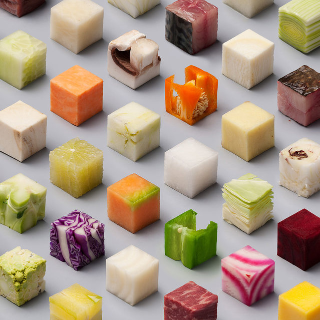 Foods Cut Into Cubes by Lernert & Sander