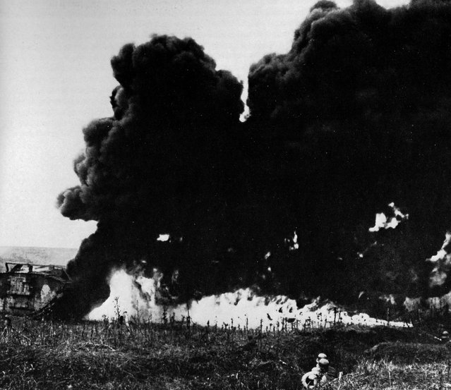 To counter British tanks, seen as unchivalrous, the Germans used flamethrowers and artillery. (Photo by Anthony Tucker-Jones/Mediadrumworld.com)