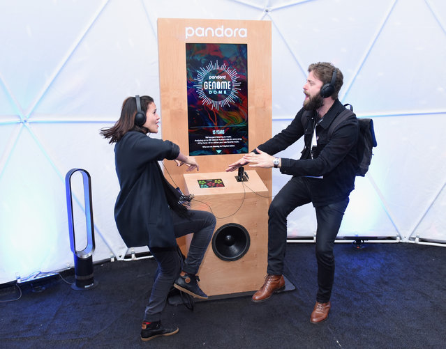 Pandora fans attend Pandora at SXSW 2017 on March 13, 2017 in Austin, Texas. (Photo by Vivien Killilea/Getty Images for Pandora)