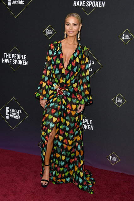 Dorit Kemsley attends the 2019 E! People's Choice Awards at Barker Hangar on November 10, 2019 in Santa Monica, California. (Photo by Jon Kopaloff/FilmMagic)