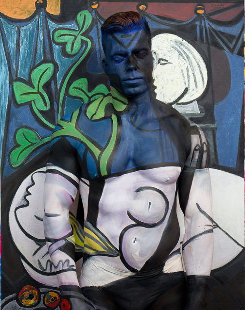 Titled 8,000,000 after price paid for Nude, Green Leaves and Bust Pablo Picasso. (Photo by Trina Merry/Caters News)