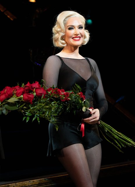 """Erika Jayne Opens in """"Chicago"""" on Broadway The Ambassador Theater, NY.  on January 6, 2020. (Photo by RCF/The Mega Agency)"""