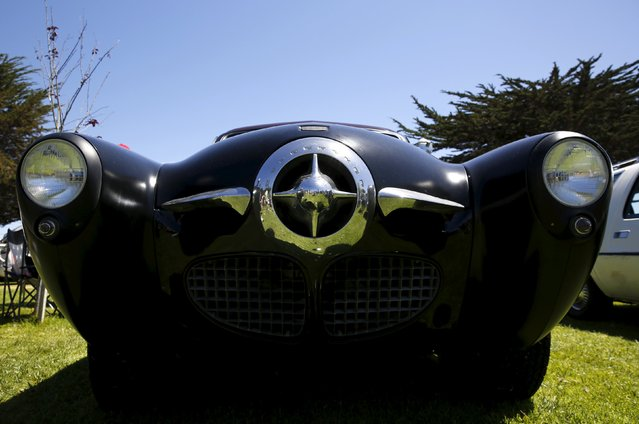 """A Studebaker is shown among vehicles sitting for the """"Worst of Show"""" award at the Concours d'Lemon, part of the Pebble Beach Concours d'Elegance in Seaside, California, August 15, 2015. (Photo by Robert Galbraith/Reuters)"""