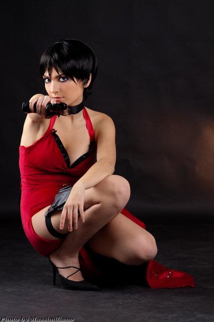 Ada Wong (Resident Evil). Model: Giulia Valenti. (Photo by Massimiliano Pellegrini)