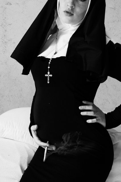 """Blasphemous side of a Nun"". (Sara Morrison)"