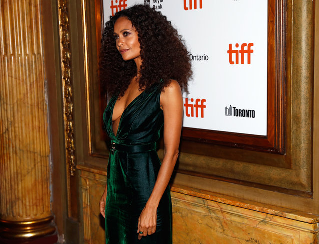 Actor Thandie Newton arrives for the world premiere of The Death and Life of John F. Donovan at the Toronto International Film Festival (TIFF) in Toronto on September 10, 2018. (Photo by Mark Blinch/Reuters)