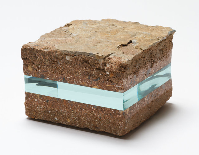 Stone with Glass Layer By Ramon Todo