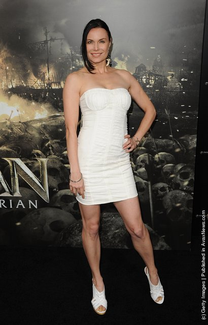 Jon Mack attends the world premiere of Conan The Barbarian