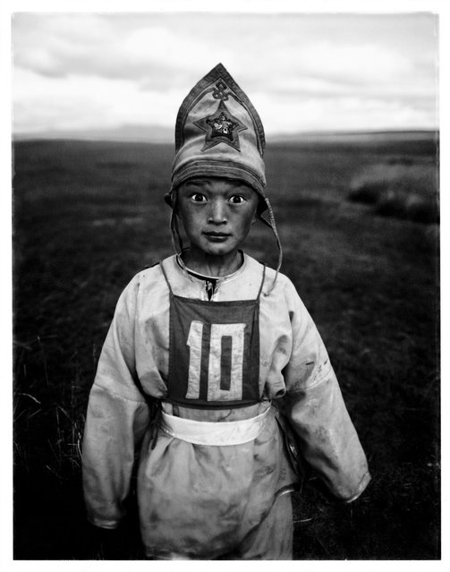 Mongolian Child Jockeys