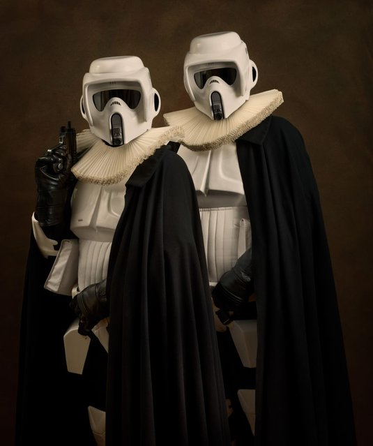 Elizabethan Superheroes And Star Wars Characters By Sacha Goldberger Part 1