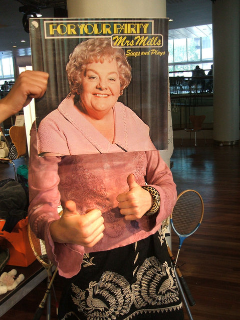 """""""Mrs Mills"""". (Photo by Hide and Seek Sleeveface)"""