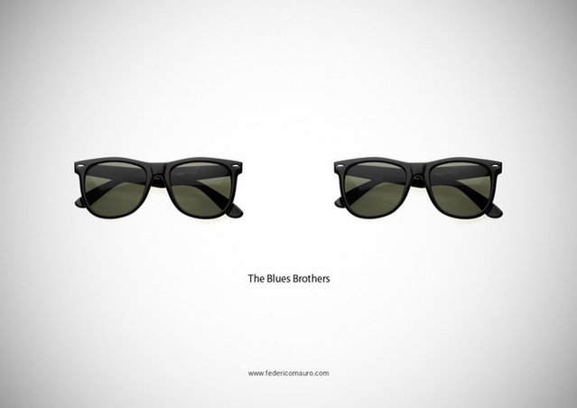 Famous Eyeglasses By Federico Mauro