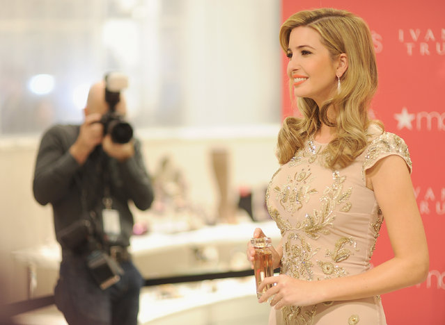 Ivanka Trump attends Ivanka Trump Fragrance Launch at Macy's Herald Square on February 19, 2013 in New York City. (Photo by Dimitrios Kambouris/Getty Images)
