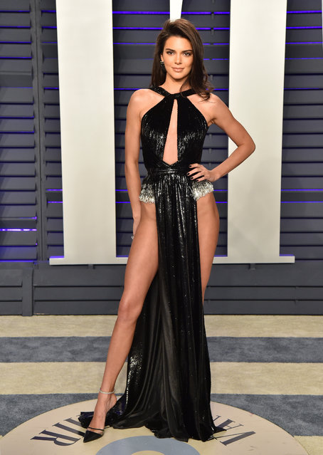 Kendall Jenner attends the 2019 Vanity Fair Oscar Party Hosted By Radhika Jones at Wallis Annenberg Center for the Performing Arts on February 24, 2019 in Beverly Hills, California. (Photo by Axelle/Bauer-Griffin/FilmMagic)