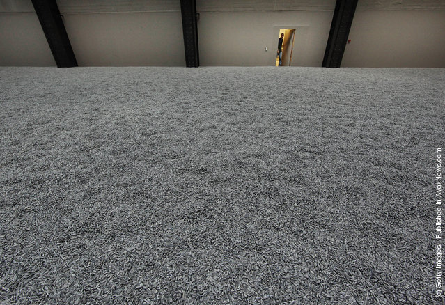 Installation 'Sunflower Seeds' by Chinese Artist Ai Weiwei