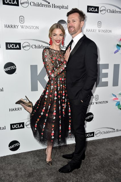 Actress Jaime King and Kyle Newman attend UCLA Mattel Children's Hospital's Kaleidoscope 5 at 3LABS on May 6, 2017 in Culver City, California. (Photo by Frazer Harrison/Getty Images)