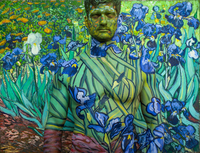 Titled 3,900,000 after the price paid for Van Goghs Irises. (Photo by Trina Merry/Caters News)