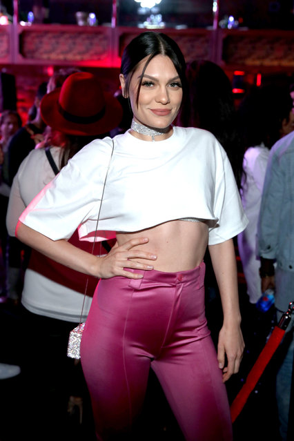 Jessie J at Republic Records VMA Party presented in partnership with FIJI Water at TAO at the Dream Hotel on August 27, 2017 in Los Angeles, California. (Photo by Jonathan Leibson/Getty Images for FIJI Water)