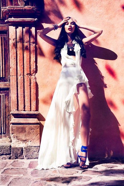 Tiffany Keller Sizzles in Mexico for Marie Claire Latin America by Vladimir Marti