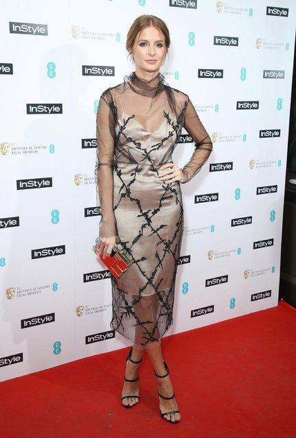 Millie Mackintosh attends the InStyle EE Rising Star Party at the Ivy Soho Brasserie on February 1, 2017 in London, England. (Photo by Mike Marsland/Mike Marsland/WireImage)