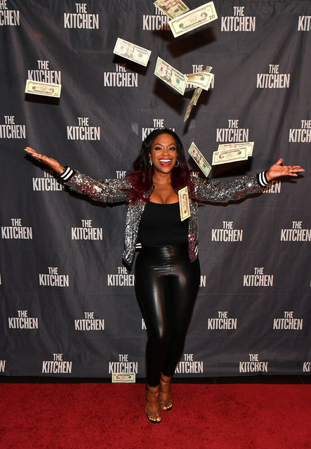 "Kandi Burruss attends ""The Kitchen"" Atlanta screening hosted by Kandi Burruss at Cinebistro on July 29, 2019 in Atlanta, Georgia. (Photo by Paras Griffin/Getty Images for Warner Bros.)"