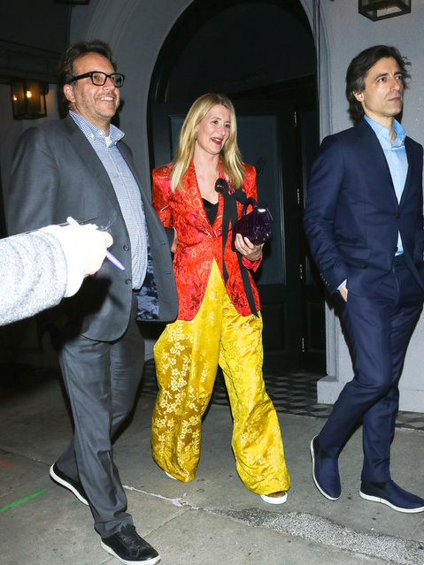 Laura Dern and Noah Baumbach are seen on January 05, 2020 in Los Angeles, California. (Photo by TM/Bauer-Griffin/GC Images)