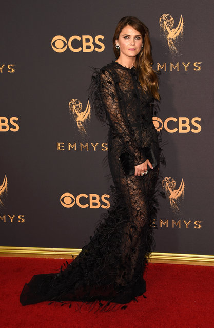 Actor Keri Russell attends the 69th Annual Primetime Emmy Awards at Microsoft Theater on September 17, 2017 in Los Angeles, California. (Photo by J. Merritt/Getty Images)