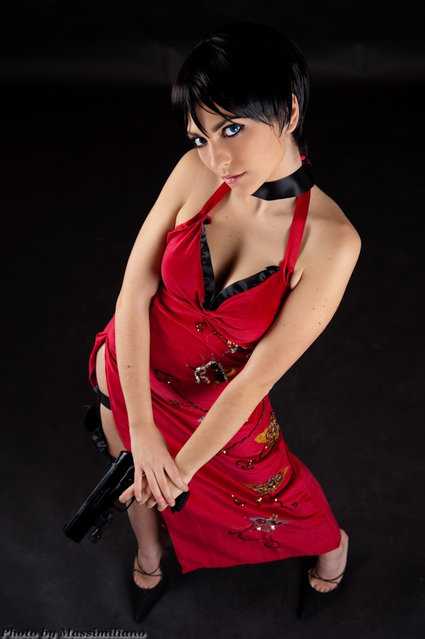 Ada Wong (Resident Evil). Model: Giulia Valenti. (Photo by Massimiliano Pellegrini)