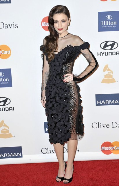 Singer Cher Lloyd arrives at the The 55th Annual GRAMMY Awards – Pre-GRAMMY Gala And Salute To Industry Icons Honoring L.A. Reid at the Beverly Hilton Hotel on February 9, 2013 in Los Angeles, California. (Photo by Jeffrey Mayer/WireImage)