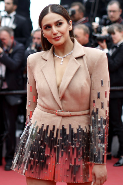 """Huma Qureshi attends the screening of """"Sorry Angel (Plaire, Aimer Et Courir Vite)"""" during the 71st annual Cannes Film Festival at Palais des Festivals on May 10, 2018 in Cannes, France. (Photo by Stephane Mahe/Reuters)"""