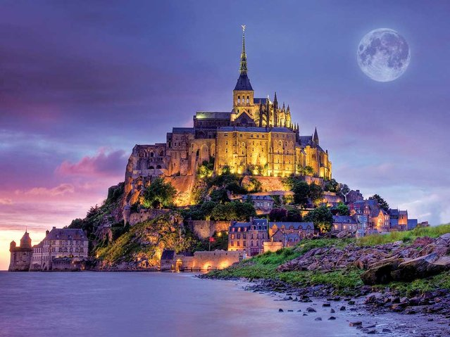 Mont St-Michel In Normandy, France