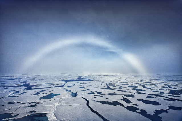 White Rainbow Or Fog Bow