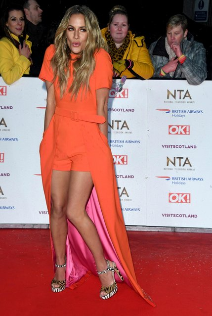 Caroline Flack attends the National Television Awards held at the O2 Arena on January 22, 2019 in London, England. (Photo by Stuart C. Wilson/Getty Images)