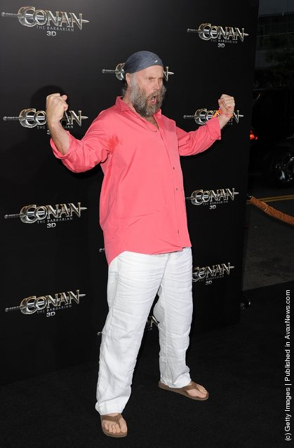 Director Marcus Nispel  attends the world premiere of Conan The Barbarian