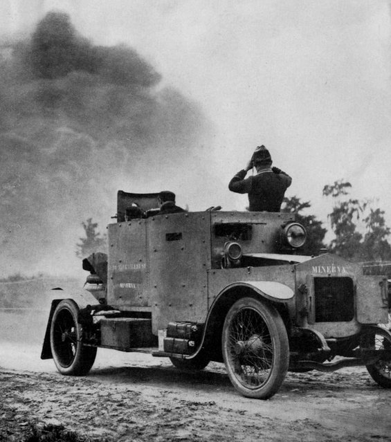 Belgium was one of the first countries to deploy the armoured car with its Minerva Model 1914, pictured. (Photo by Anthony Tucker-Jones/Mediadrumworld.com)