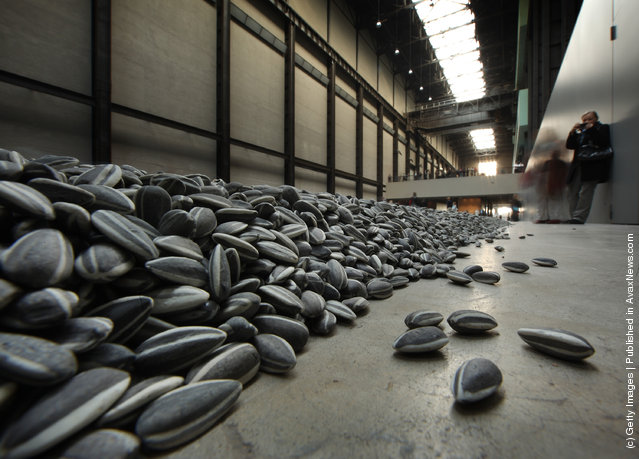 Installation 'Sunflower Seeds' by Chinese Artist Ai Weiwei