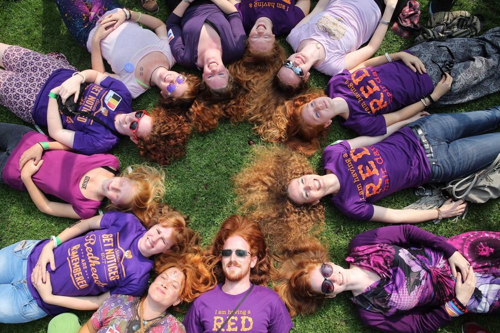 Annual Redhead Day in Breda