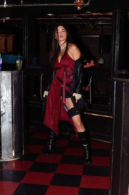 Ada Wong from Resident Evil: Chance Halloween Fashion 2011. (Photo by Camerarchitect)