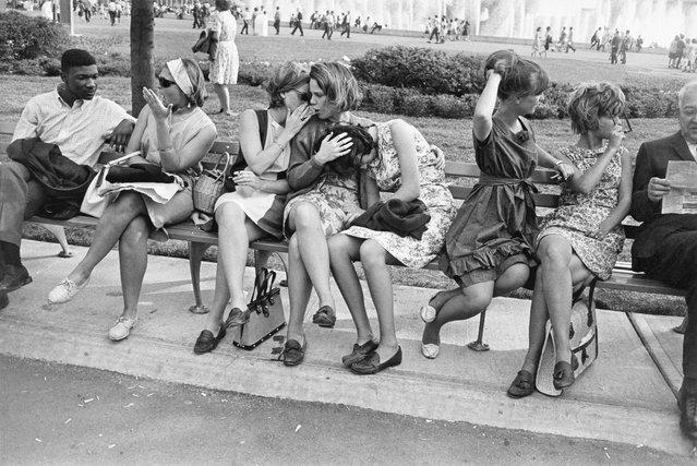 World's Fair, New York City, New York, 1964. (Photo by Garry Winogrand)
