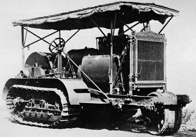 The Holt 75 model gasoline-powered caterpillar tractor provided the inspiration for the tank. (Photo by Anthony Tucker-Jones/Mediadrumworld.com)