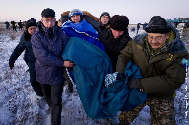 Expedition 29 Flight Engineer Sergei Volkov