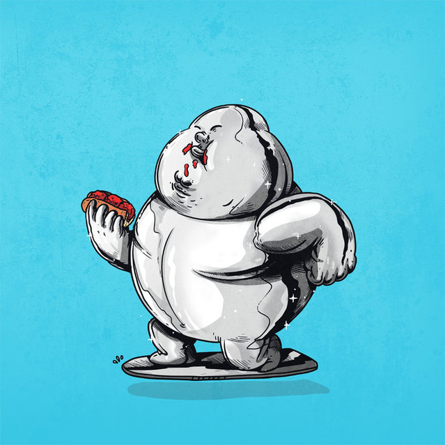 Fat Pop Culture Characters By Alex Solis Part 2