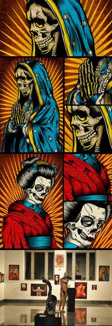 art works of Chris Parks