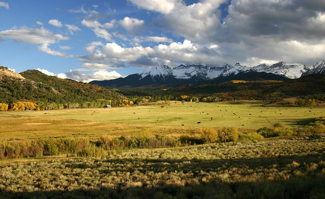 """Norman P. Leventhal, 72, of Potomac, Md., captured this scene on a farm in the """"San Juan Mountains of Colorado owned by Ralph Lauren"""". (Photo by Norman P. Leventhal)"""