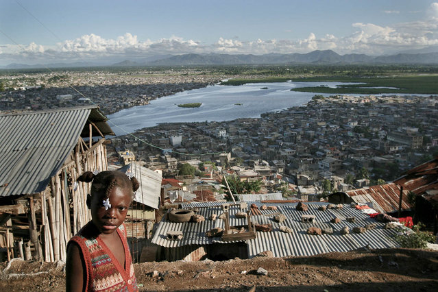 Cap-Haitien, Haiti. The working-class Laborie district above the big Faussette slums in October 2003. (Photo by Jean-Claude Coutausse)