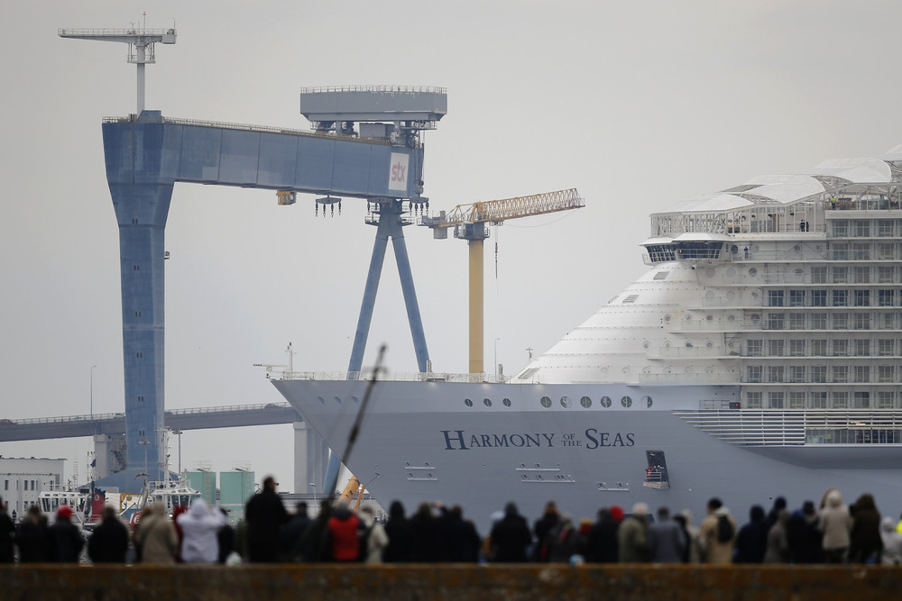 World's Largest Cruise Ship – Harmony of the Seas