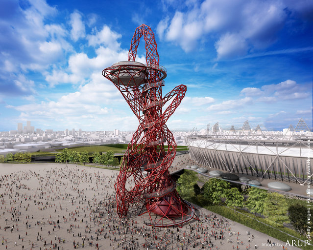 The ArcelorMittal Orbit by Anish Kapoor