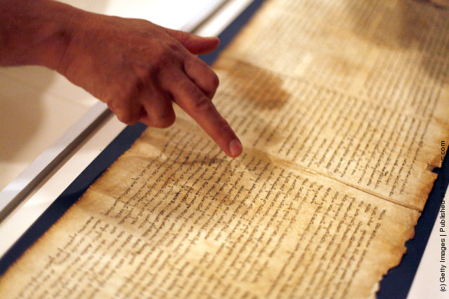 Israel Museum Displays Dead Sea Scrolls