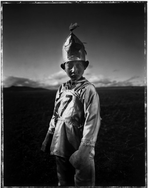 Mongolian Child Jockeys
