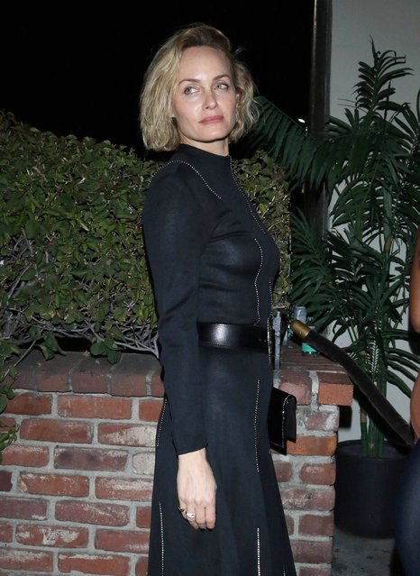 Amber Valletta out and about in Los Angeles, USA on December 31, 2019. (Photo by ROGUT/starmaxinc.com/Rex Features/Shutterstock)